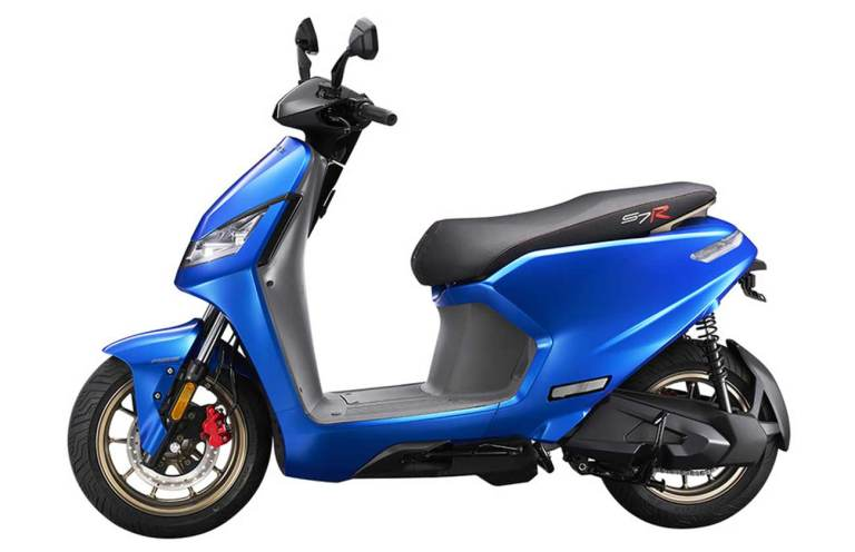kymco s7r electric scooter