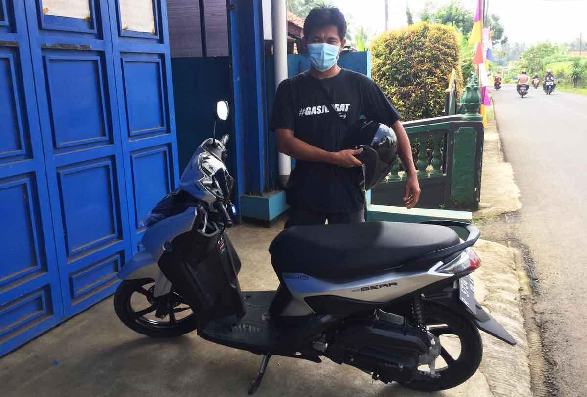 Yamaha Gear 125...