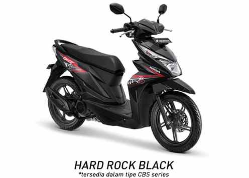 Honda BeAT 2018 CBS Hard Rock Black...
