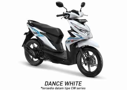 Honda BeAT CW 2018 dance White...