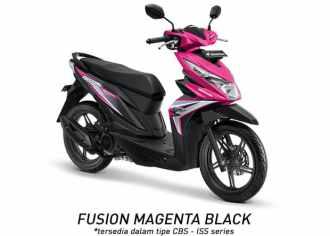 Honda BeAT 2018 CBS - ISS Fusion Magenta Black...