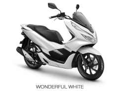 Honda PCX 150 2018 Wonderful White...