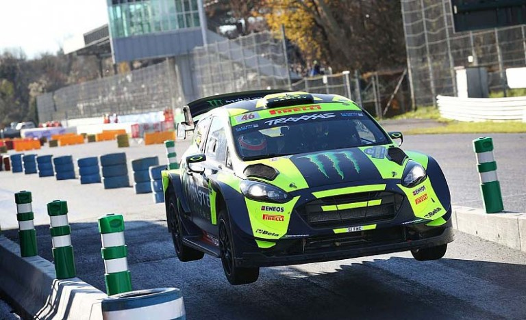 rossi monza rally show