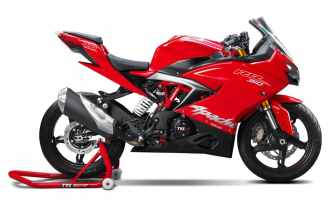 TVS Apache RR 310 Racing Red...
