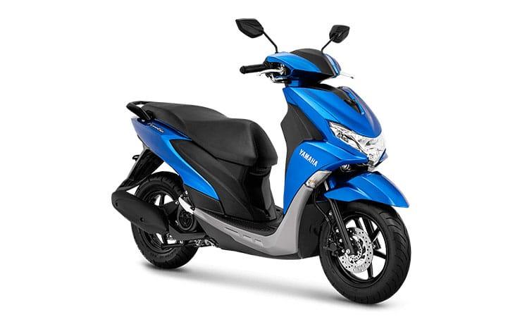 yamaha freego 125 biru