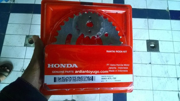 Gear set Honda Revo