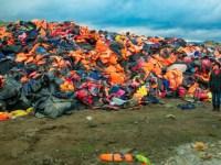 Η Λέσβος των προσφύγων και των … σκουπιδιών