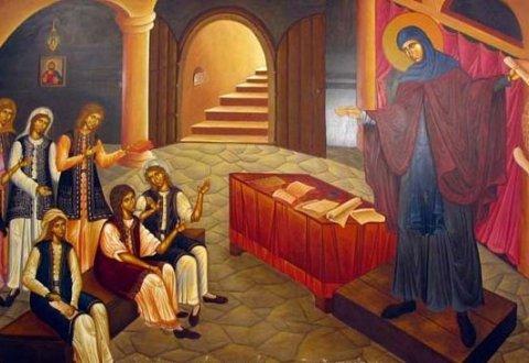 Η Αγία Φιλοθέη των Αθηνών