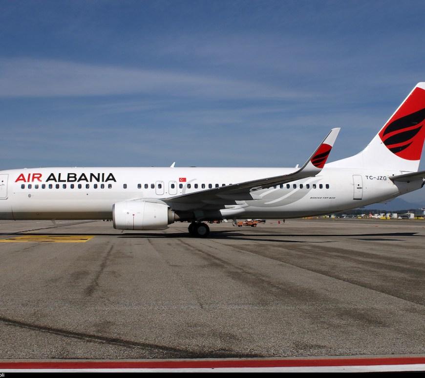 Air Albania plane