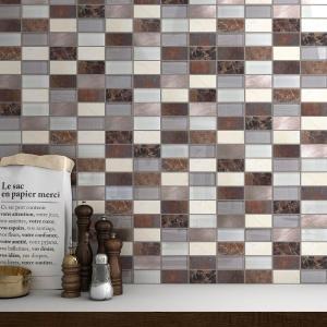 render-3d-de-mosaico-de-ceramica-marron-para-cocina