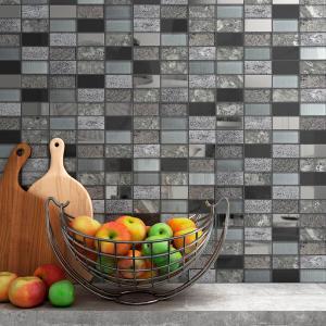 render-3d-de-mosaico-de-ceramica-gris-para-cocina