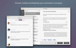 Fitur Blogo preview dan publish blog