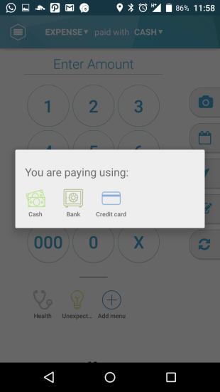 Jojonomic - payment method