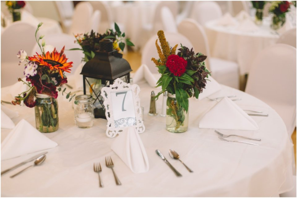 reception details, jewish wedding