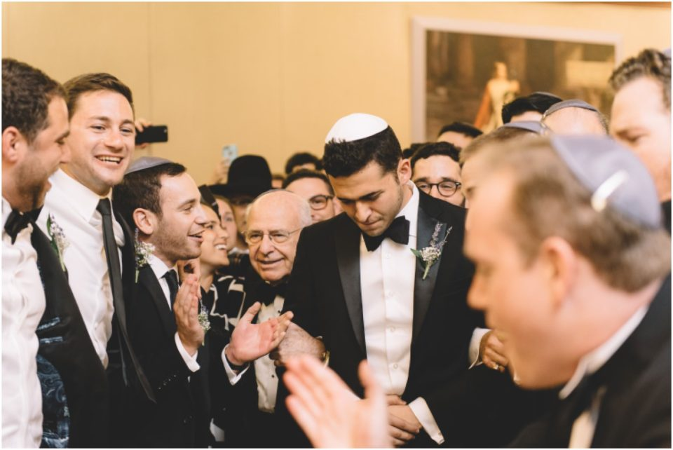 Jewish Wedding First Look