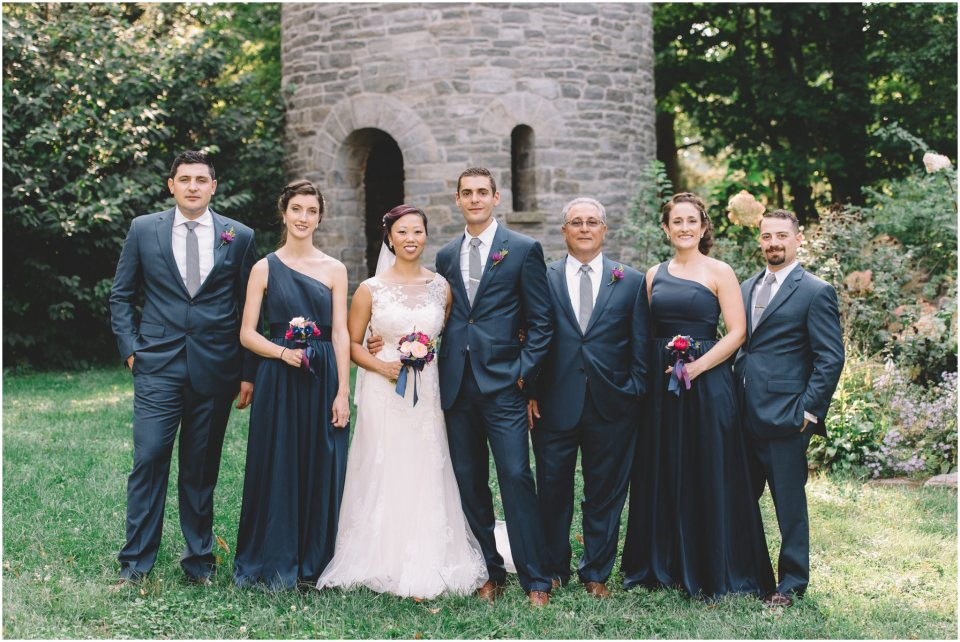 Duke Art Gallery Wedding party photo