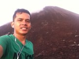 Selfie Gunung Krakatau