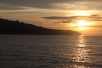 Sunset Pulau Sebesi