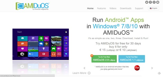 AMIDuOS for pc download