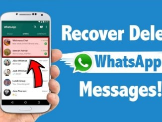 recover deleted whatsapp text messages and media files