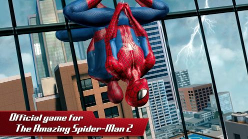the amazing spider man 2 app