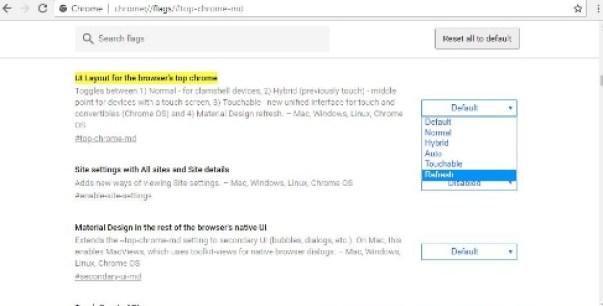 chrome toolbar fix