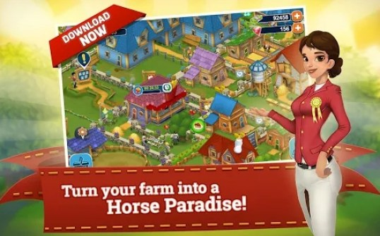 horse farm hack