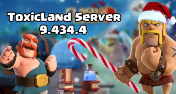toxic land coc server apk