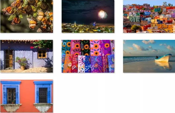 colors of mexico win 10 theme