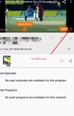 jio tv live stream portrait mode