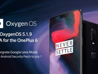 oxygenos 5.1.9 oneplus 6