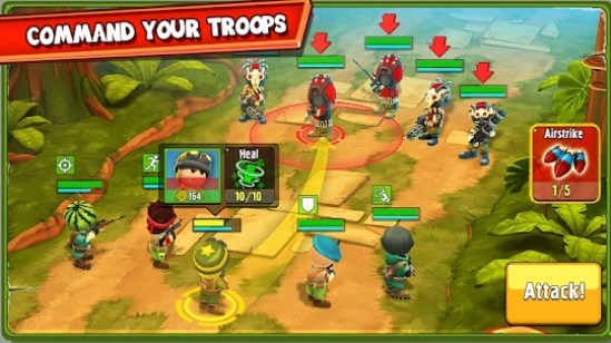the troopers apk mod