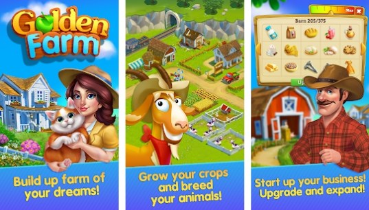 Golden Farm: Happy Farming Day v1 7 3 Mod Apk Android | AR Droiding
