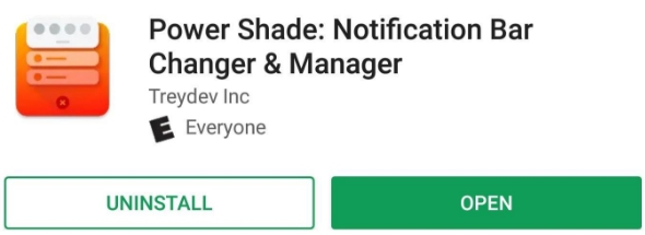 power shade android app