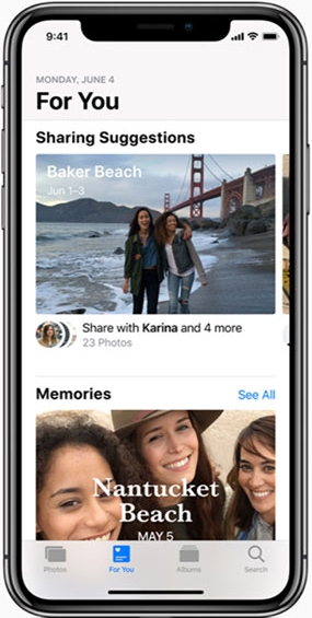 ios 12 photos app