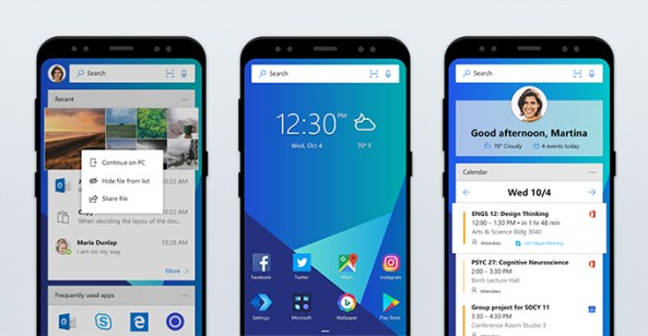 disable timelime on microsoft launcher for android