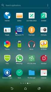sony xperia home launcher screenshot 1