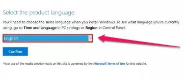windows 10 iso language