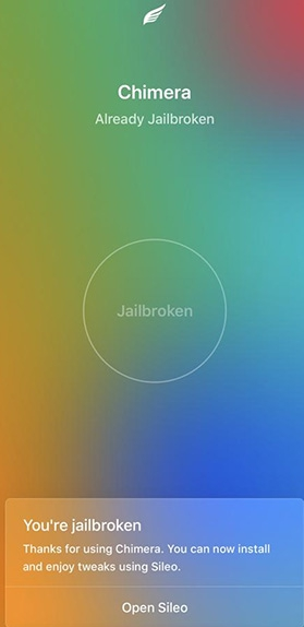 chimera ios 12 jailbreak guide