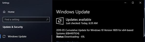 windows 10 1903 may 2019 update