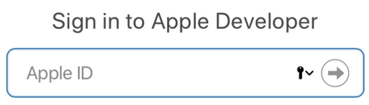 apple developer id account login