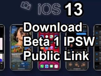 ios 13 beta 1 ipsw public link