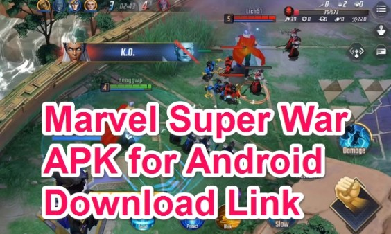 marvel super war apk + obb data 2019