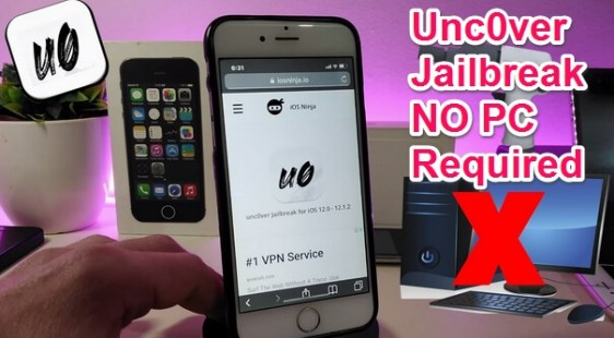 unc0ver jailbreak without pc