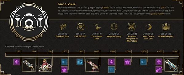 apex legends seven new modes 2020