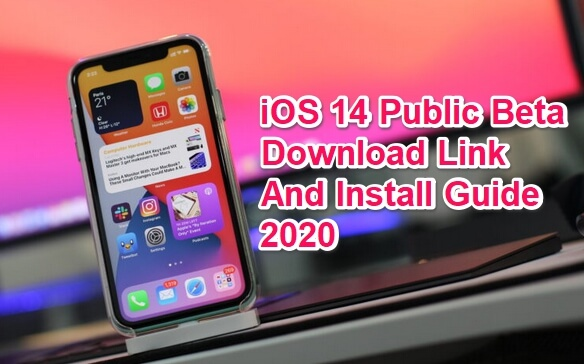 ios 14 public beta download and install