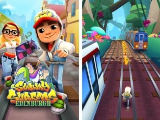 subway surfer endinburgh screenshots