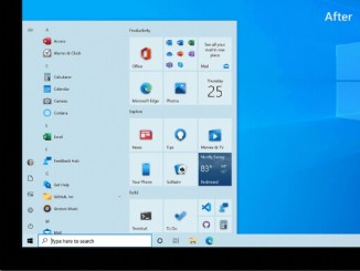 enable new start menu win 10