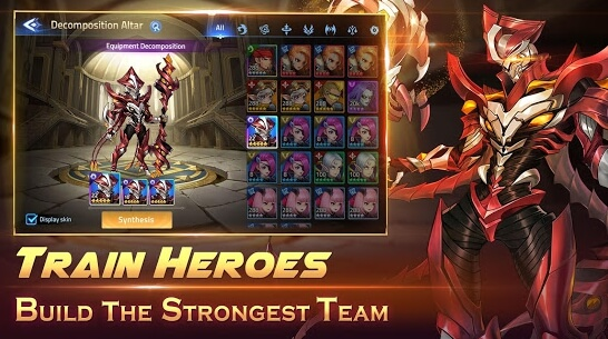 mobile legends adventure mod apk screenshots