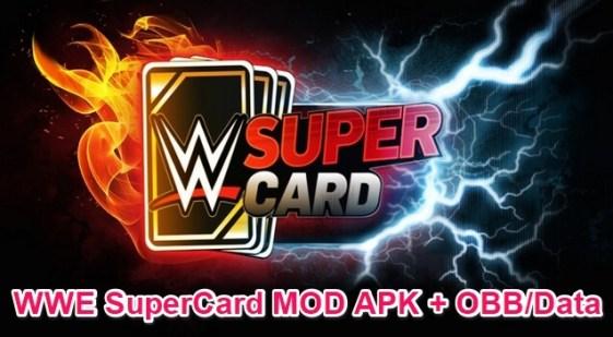 wwe supercard apk mod
